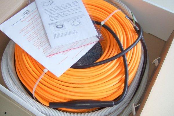 Фото  1 Нагревательный кабель двужильный Woks-17 1200Вт, 72м Woks (Украина) 1856409