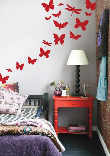 "Наклейка на стену ""Бабочки"" 2"