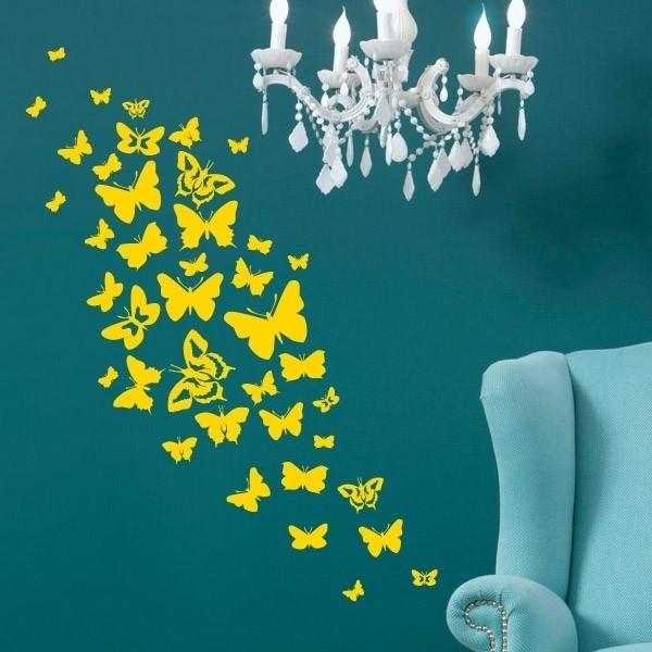 "Наклейка на стену ""Бабочки"""