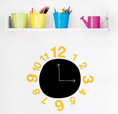 """Наклейка на стену """"Часы"""""""