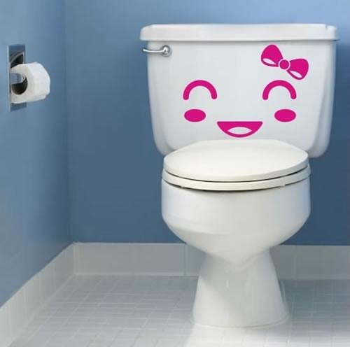 Наклейка на туалет 1