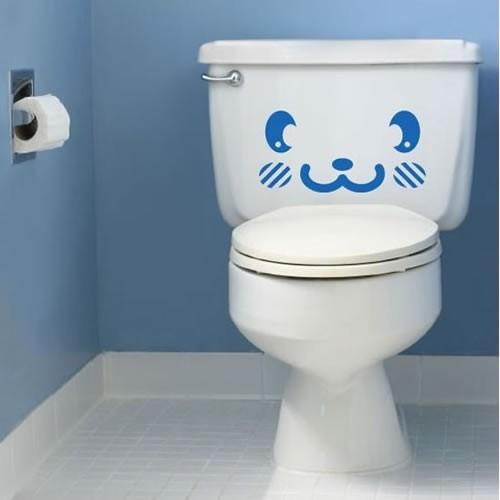 Наклейка на туалет 2