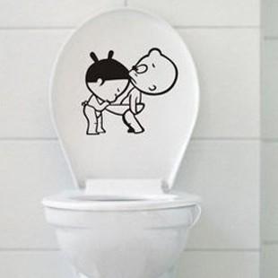 Наклейка на туалет 3