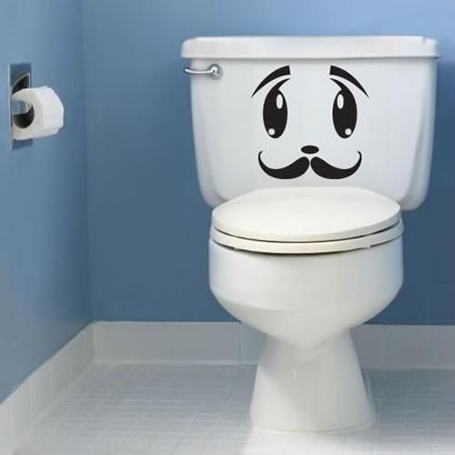Наклейка на туалет 4