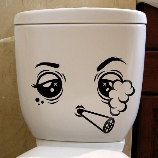 Наклейка на туалет 5