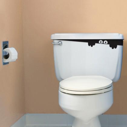 Наклейка на туалет 6