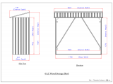 Фото  1 Накрытие для дров металлическое серый с белым 2015281