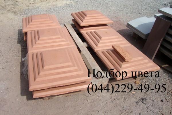 Накрытие на забор бетонное от производителя