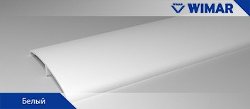 Наличник ПВХ декоры WIMAR белый Рамеры: 15*74*2200