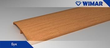 Наличник ПВХ декоры WIMAR бук Рамеры: 15*74*2200