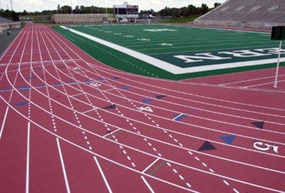 Полиуретановые покрытия для беговых дорожек, спортивных и детских площадок