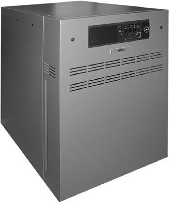 Напольные газовые котлы SLIM HP с чугунным теплообменником и с атмосферной горелкой. Мощность: 82-115 кВт