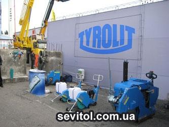 Нарезчик швов TYROLIT FSG 620 с глубиной резания до 230 мм