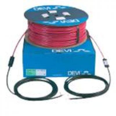 Наружный, внутренний обогрев, одножильный кабель deviflexТМ DSIG-20 на 380 / 400 В, 1660/1850, 93 метра