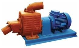 Насос НСЦ-2 (АНС-130Б) Агрегат насосный самовсасывающий. Бензиновый ДВС мощностью 11л. с. Пинский ОМЗ.
