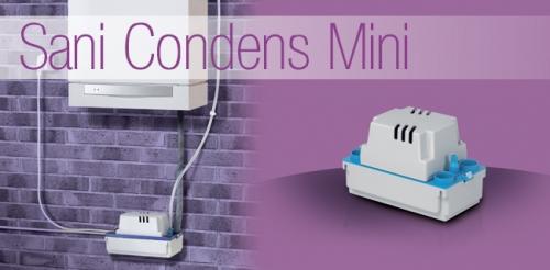 Насос санитарный для откачки конденсата SANICONDENS MINI