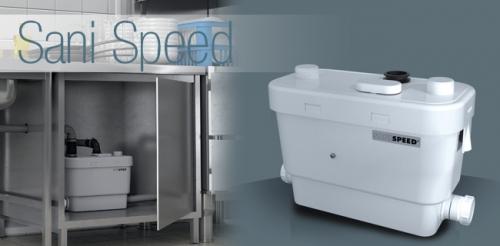 Насос санитарный для принудительной канализации SANISPEED (SFA) Франция
