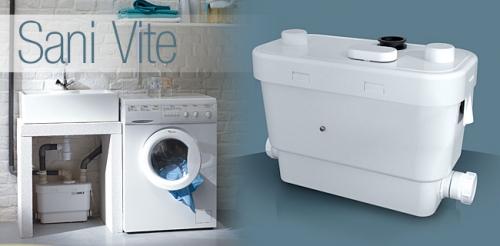 Насос санитарный для принудительной канализации SANIVITE (SFA) Франция