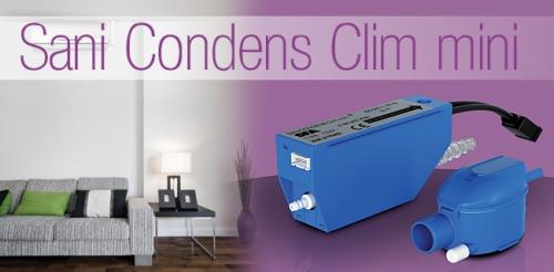 Насос санитарный самовсасывающий для откачивания стоков от кондиционеров SANICONDENS Clim Mini