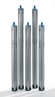 Насосы для скважин SQ 2-55, SQ 2-70, SQ 2-85, SQ 2-100, SQ 3-55, SQ 3-65, SQ 3-80, SQ 3-105 (Grundfos.