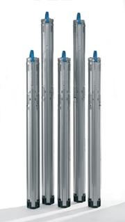 Насосы для скважин SQ 2-55, SQ 2-70, SQ 2-85, SQ 2-100, SQ 3-55, SQ 3-65, SQ 3-80, SQ 3-105 Grundfos