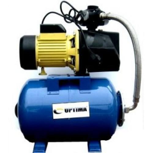 Насосная станция Optima JET100A-50 1,1кВт чугун короткий Бак на 50 литров