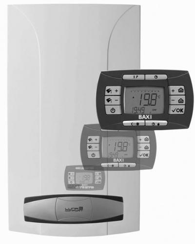 Настенные газовые конденсационные котлы LUNA 3 COMFORT HT Мощность: 12-33 кВт