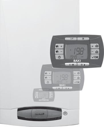 Настенные газовые котлы с выносной панелью управления и встроенным бойлером Nuvola 3 COMFORT Мощность: 24-32 кВт