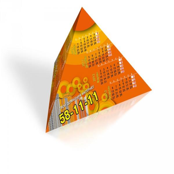 """Настольный календарь """"Пирамидка&quot ;"""