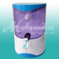 Осмос настольный с помпой, прозрачные бака воды 7л 50G RO-4 X01