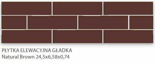 плитка клинкер Ceramika Paradyz Natural Brown