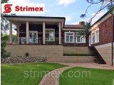 Фото  1 Навесной ВентФасад StrimROCK на алюминиевой подсистеме с декоративным камнем Лондон Брик 2310319