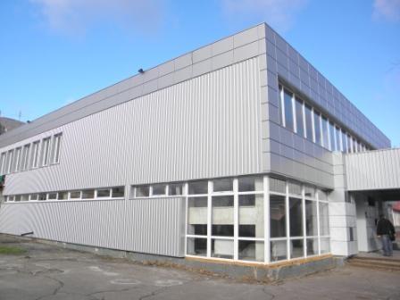Навесной вентилируемый фасад Альбатрос -профнастил (Ral на выбор)без утепления