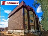 Фото  1 Навесной Вентилируемый Фасад StrimROCK на алюминиевой подсистеме с декоративным камнем Толедо 2310323