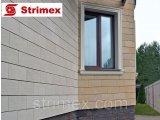 Фото  1 Навесной Вентилируемый Фасад StrimROCK на алюминиевой подсистеме с декоративным камнем Тиволи 2310321