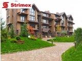 Фото  1 Навесной Вентилируемый Фасад StrimROCK на алюминиевой подсистеме с декоративным камнем Уайт Клиффс 2310324