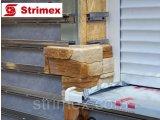 Фото  1 Навесной Вентилируемый Фасад StrimROCK на алюминиевой подсистеме с декоративным камнем Каскад Рейндж 2310320