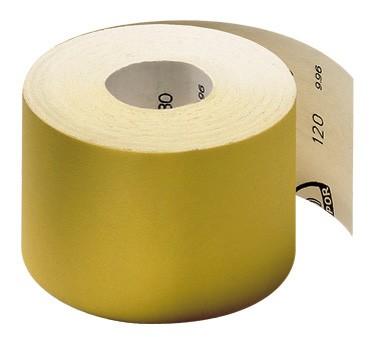 Наждачная бумага (шлифшкурка) Klingspor PS30D (Gipex) - краска / шпатлевка / дерево Размер: 115х50000 Зерно: Р100-P320