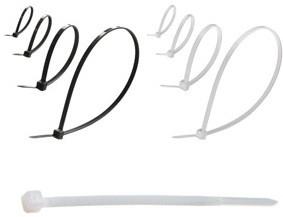Изделия для монтажа:стяжки нейлоновые, металлические, клипсы