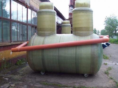 Нефтеловушка 3 л/с (сепаратор нефтепродуктов) стеклопластиковая