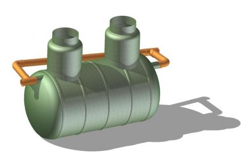 Нефтеловушка 5 л/с (бензо-маслоотделите ль)