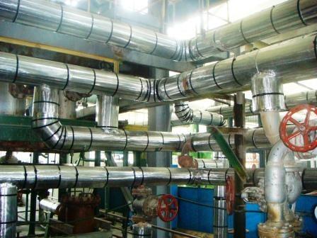 Негорючая изоляция для труб, диаметр трубы 76 мм . Температура эксплуатации от -180 до 180 С . Гарантия - 20 лет!