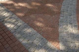 Немецкий тротуарный клинкер различных производителей