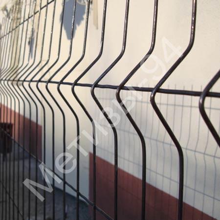 Неоцинкованные заборы ТМ Казачка проволочные секционные. Диаметр проволоки 4 и 5 мм.
