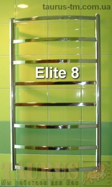 Нержавеющая сушилка для полотенец Elite 8 /500. Изготовление размеров под заказ. Гарантия.