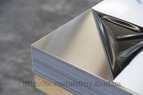Нержавеющий лист 08Х18Н10 0,8х1000х2000 мм