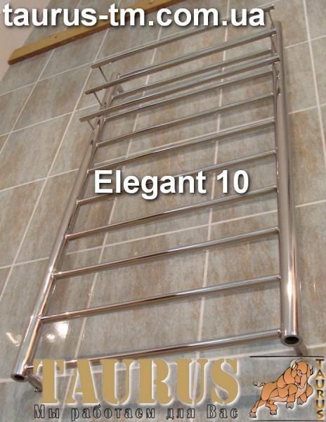 Нержавеющий полотенцесушитель Elegant 10/500 . Высота 1050 мм. Доставка . Размеры под заказ.