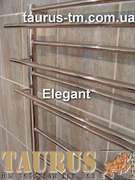 Нержавеющий полотенцесушитель Elegant 11/500 . Размеры под заказ. Покраска. Доставка.
