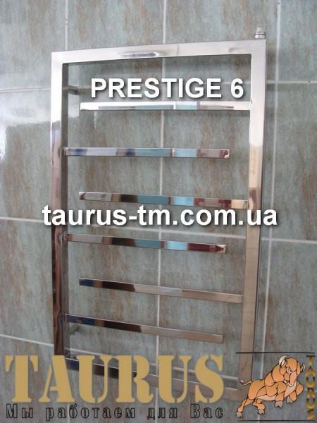 Нержавеющий полотенцесушитель Prestige 6 / 500 мм. Теплоотдача при макс. ширине: 384 Вт. Доставка от 1 штуки.
