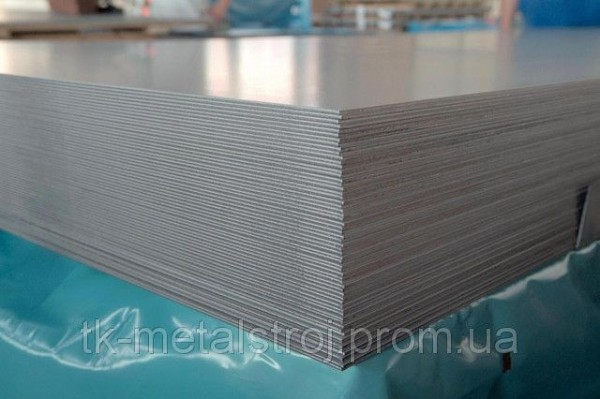Нержавіючий лист 0.8х1000х2000 AISI 430 (12Х17 ) поверхня 2В